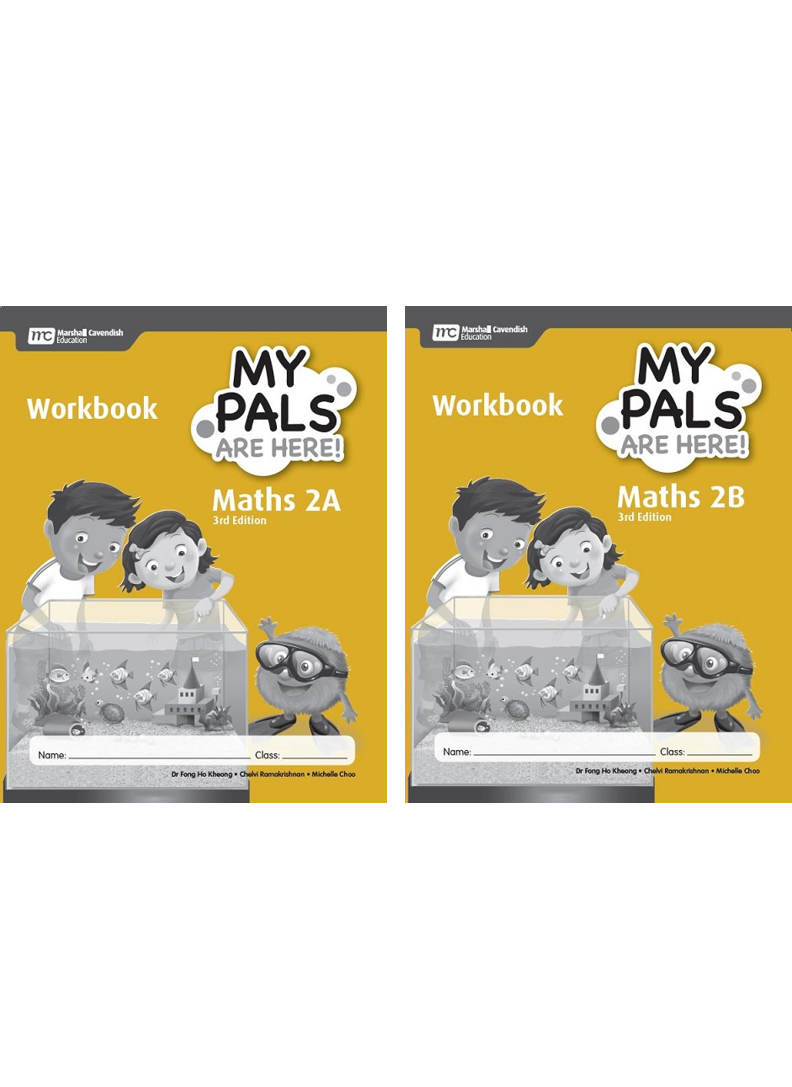 My Pals are Here! Maths Workbook 2A and 2B package (3rd Edition ...