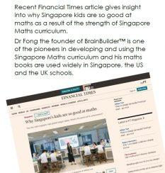 Learn Singapore Maths From Home Brainbuilder Dr Fong Singapore